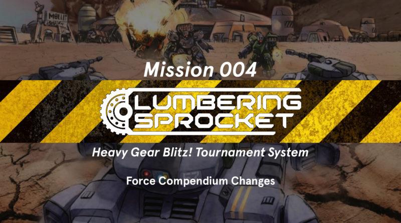 Mission 004 – Force Compendium Update